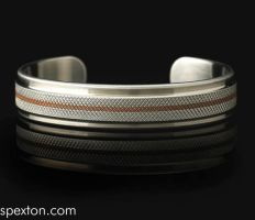 Copper Regent Cuff by Spexton