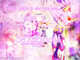 Blaze the Cat Wallpaper by lollipop-x