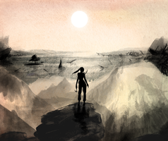 Tomb Raider Contest Entry by Peasizer1234