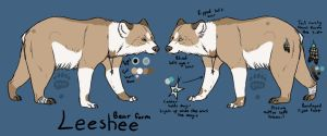 Leeshee Ref - Bear Form by Mirgy