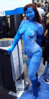 NYCC '10: Mystique Cosplay by PanicPagoda