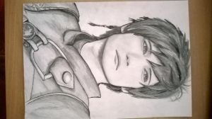 fanart of Liui as Hiccup by Kyuria