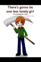 one less lonely girl by jellogurl55