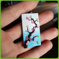 Cherry Blossom Pendant by JenstoneCreations