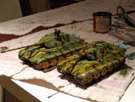5th King Tiger Operational by DingoPatagonico