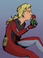 Giant Kisses for Vision by bluepard2