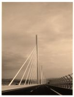 Millau bridge by BlueSand-Tiger