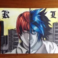 I am Justice! (Death Note) by partyboy3543
