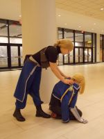 DTAC Edward Elric and Riza Hawkeye by The-Amazing-Pillow