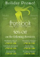 Fresh Look Promo Flier front by Click-Art