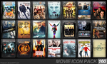 Movie Icon Pack 160 by FirstLine1