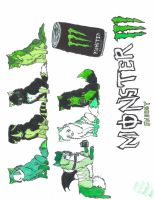 monster power energy drink by wolfs15