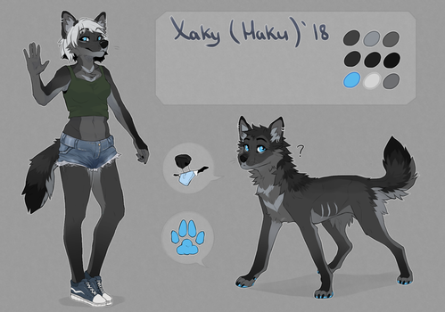 This is almost my first anthro by Fewtish