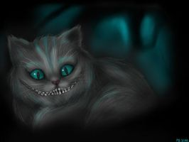 the cheshire cat by inicka