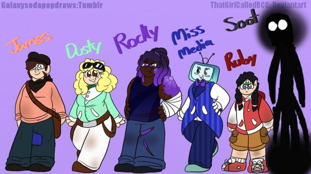 Dome Characters by ThatGirlCalledBCC