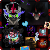 Best evil character ever collage by CandyFlightTV