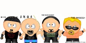 The CFW crew south park by minus-blindfold