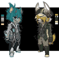 Cheeb Anthro Adopts (CLOSED) by Sucipu
