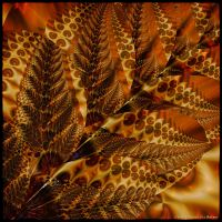 UF10 Gold Fern by Xantipa2