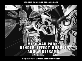 C4d Pack Misc by Son-Baby