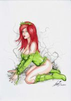 Sexy Poison Ivy by HM1art