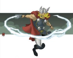 Thor - Toony Version by deralbi