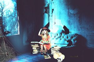 Little Witch by cherie-stenson