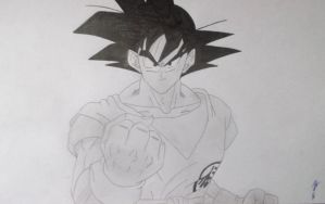 Goku (Dragon Ball) by RyuFujin4