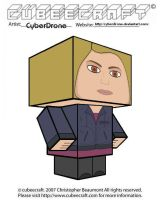 Cubeecraft - Rose Tyler 'Ver2' by CyberDrone