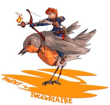 Agent Incendiaire by Seikame