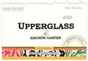 Upperglass - Wine Label by nfcwave