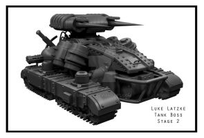 Tank Model:  Stage 2 by snaplat