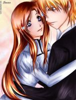 IchiHime: Together...at last. by Iwonn