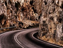 rocks and road by pauljavor