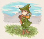 Snufkin by Kata-elf