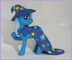 Trixie Pony sculpture commission 2 by MadPonyScientist