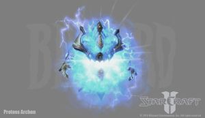 Starcraft 2: Protoss Archon by PhillGonzo