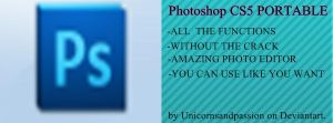 Photoshop CS5 Portable by Unicornsandpassion. by Unicornsandpassion