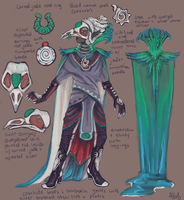 Quetzal Costume Design by I-Ran-So-Far-Away