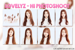 LOVELYZ PNG PACK 01 by CupcakeSwift