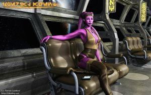 Twi'lek Imperial Agent by Dendory