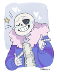 Sans by forsythiaflowers