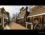 The Old West by Bleezer