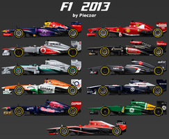Formula 1 2013 by pieczaro