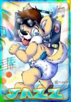 Jammin' with a BOOMBOX by Scamp-Breezy