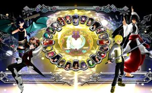 Virus Overture Character Select Screen by Clonesaiga