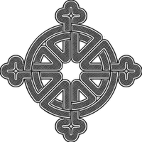 Celtic Knot Cross by Conspiracy-Z-Cycle