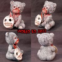 Bear with Jason Friday the 13t by Undead-Art