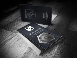 DJ El Camino Business Card by ristovicmilos