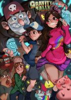 Gravity Falls by BrianLueng